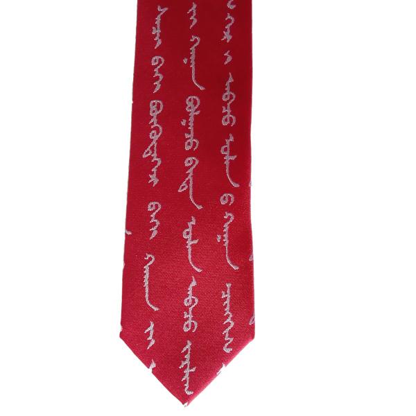 cravate rouge large